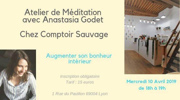 Atelier méditation: augmenter son bonheur intérieur