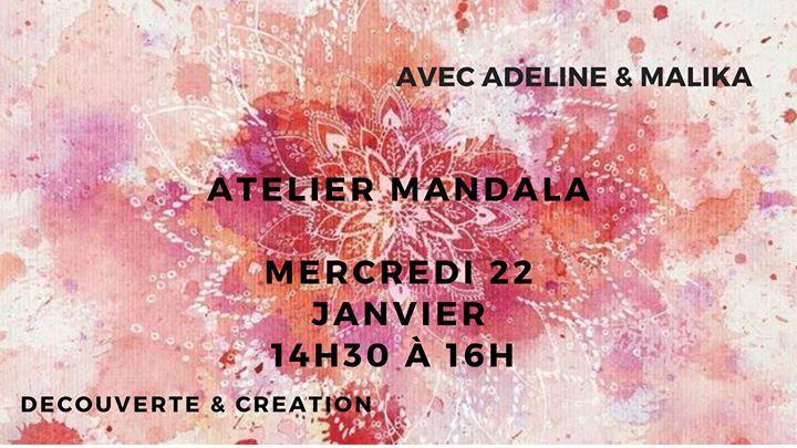 Atelier mandala : découverte & création libre
