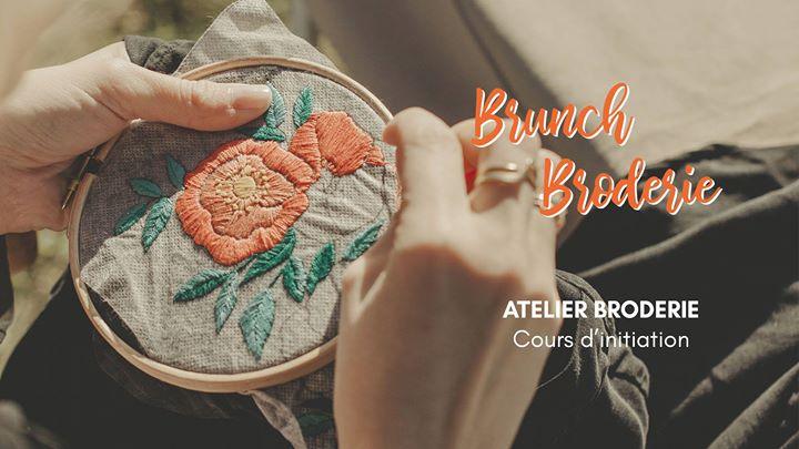 Brunch & Broderie // Atelier d'initiation