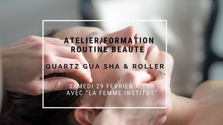 Atelier/formation au Quartz Gua Sha & Roller